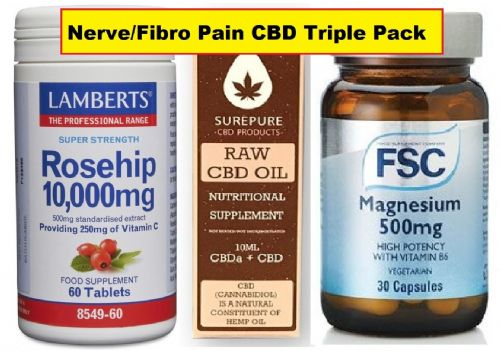 Pain/Fibro Pain Triple Pack Special Offer + Free Delivery